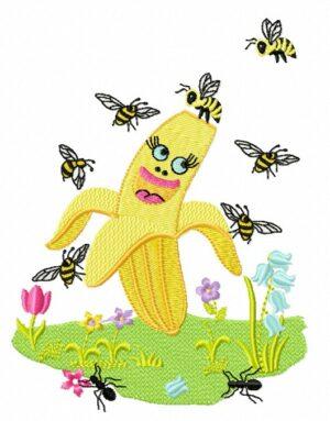 Banane Insectes
