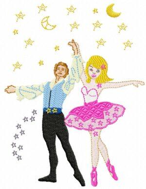 Danseurs ballet étoiles
