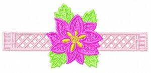 Rose – Rond de serviette (FSL)