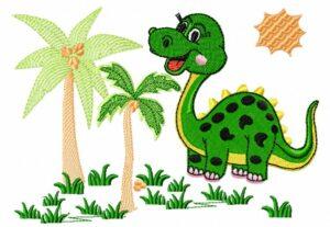Mme Dino jungle