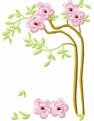 Bambou fleuri