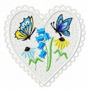 Cœur fleuri (FSL)