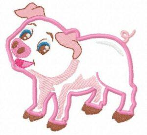 Cochon (Appliqué)