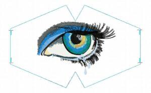 Masque Oeil triste (ITH)