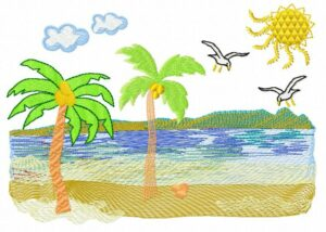 Rêve de plage