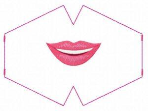 Masque Sourire discret (ITH)