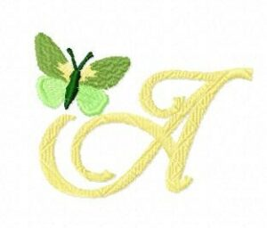 Alphabet Papillon