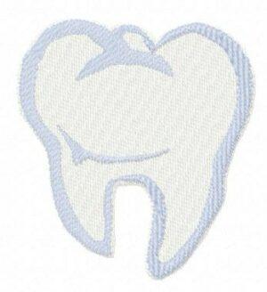 Dent bleue