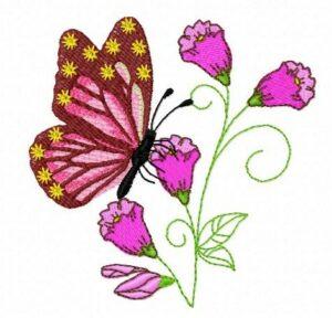 Bouquet papillon (avec vidéo)