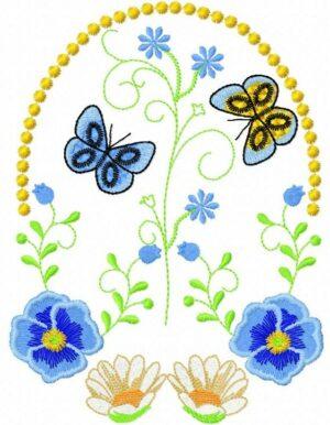 Papillons pensées
