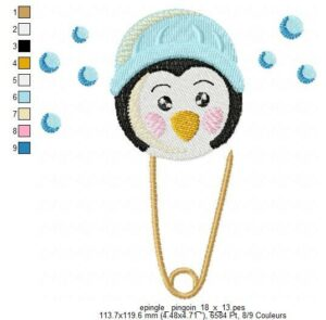 Epingle Pingouin