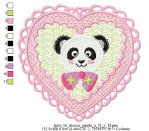 Panda (Boite FSL) (avec Tuto)