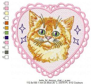 Chat roux (Boite FSL) (avec Tuto)